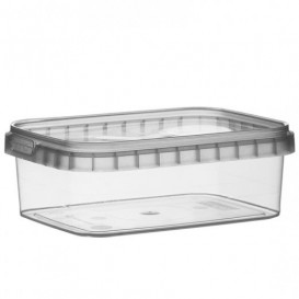 Envase Plástico y Tapa Inviolable 280ml 120x88mm (24 Uds)