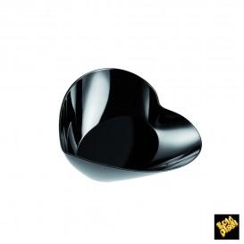 Bol Degustación Plastico Lovers Negro 30ml (25 Uds)