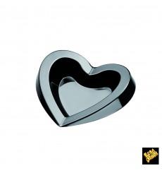 Plato Degustación Plastico Free Negro 15ml (500 Uds)