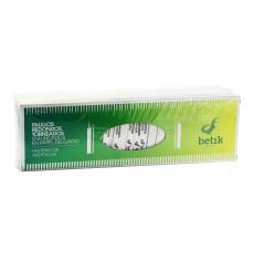 Palillos de Madera Redondo Torneado Enfundado 65mm (5 Uds)
