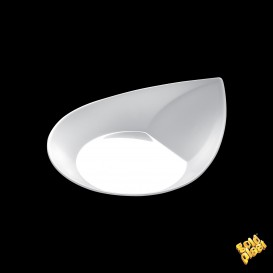 Plato Degustacion Smart Blanco 8,6x7,1 cm (50 Uds)