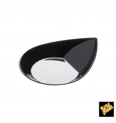 Plato Degustacion Smart Negro 8,6x7,1 cm (50 Uds)