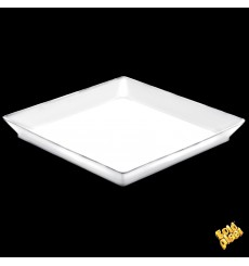 Bandeja Degustación Medium Blanco 13x13 cm (12 Uds)