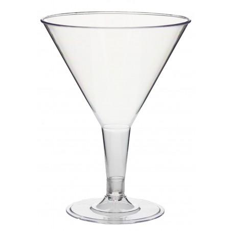 Copa de Plastico Transparente 215 ml (3 Uds)