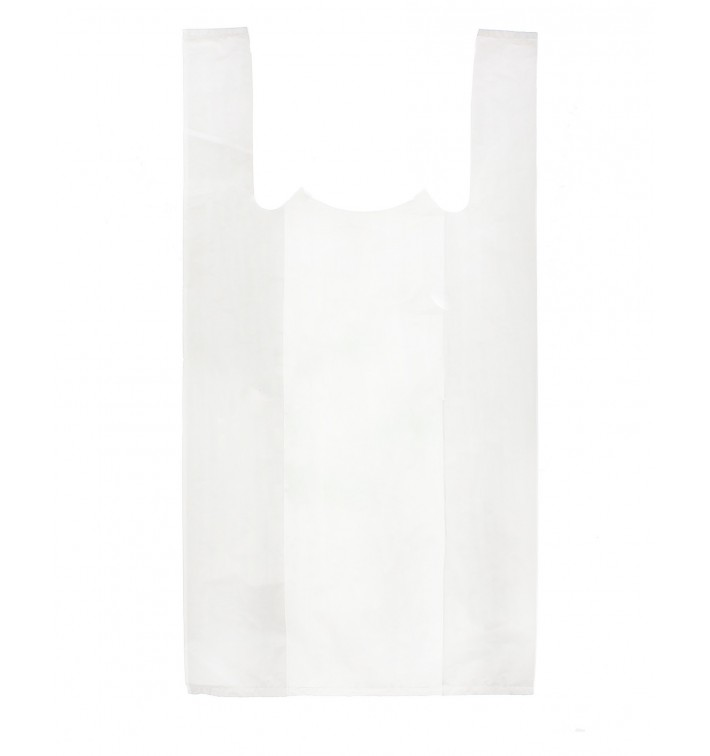 Bolsa Plastico Camiseta 30x40cm Blanca (200 Unidades)