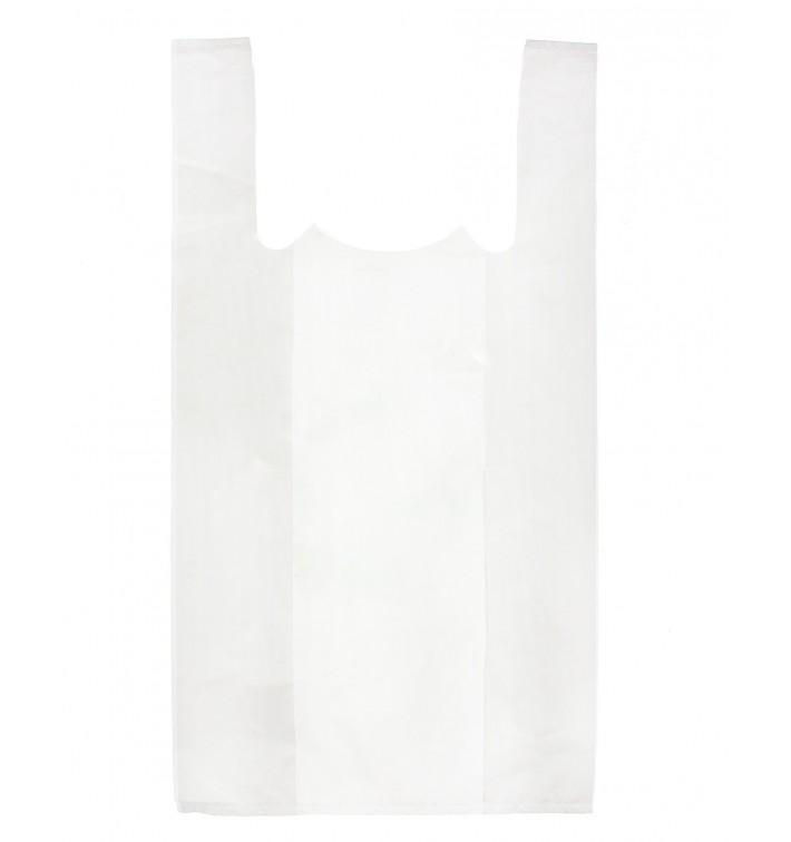 Bolsa Plastico Camiseta 35x50cm Blanca (200 Unidades)