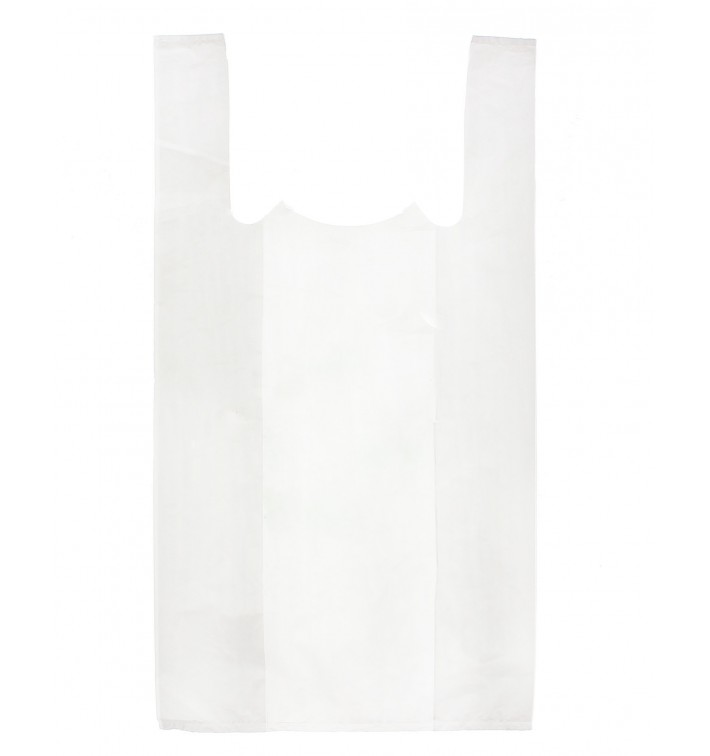 Bolsa Plastico Camiseta 35x50cm Blanca (5000 Unidades)