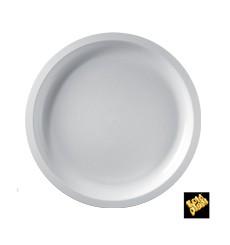 Plato de Plastico Blanco Ø290mm (25 Uds)