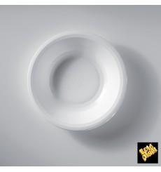 Plato de Plastico Hondo Blanco Ø195mm (300 Uds)