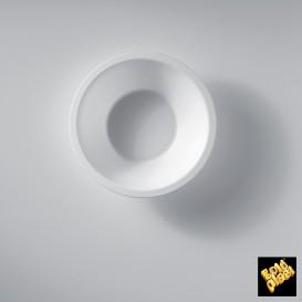 Bol de Plastico Blanco Ø155mm 450ml (50 Uds)