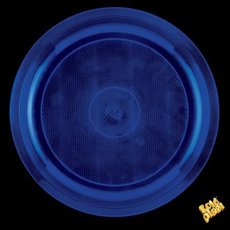 Plato de Plastico Azul Ø290mm (150 Uds)