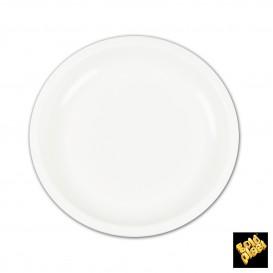 Plato de Plastico Blanco Ø235mm (50 Uds)