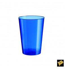 Vaso de Pastico Azul Pearl PS 200ml (50 Uds)