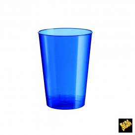 Vaso de Plastico Moon Azul Pearl PS 200ml (500 Uds)