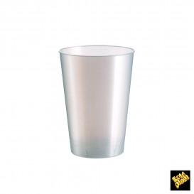 Vaso de Plastico Moon Blanco Pearl PS 200ml (500 Uds)