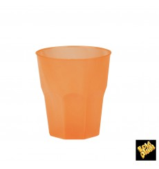 Vaso de Plastico Naranja PP 250ml (200 Uds)