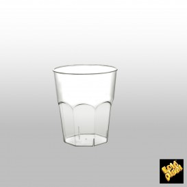 Vaso Plastico para Cocktail Transp. PS  Ø73mm 200ml (500 Uds)