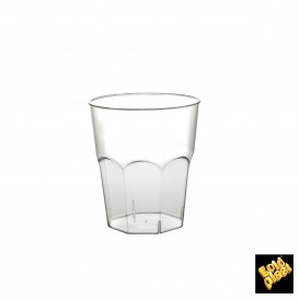 Vaso Plastico para Cocktail Transp. PS  Ø73mm 220ml (500 Uds)