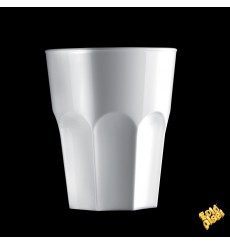 Vaso de Plastico Blanco SAN Ø85mm 300ml (120 Uds)