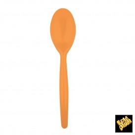 Cuchara de Plastico Easy PS Naranja 185 mm (20 Uds)