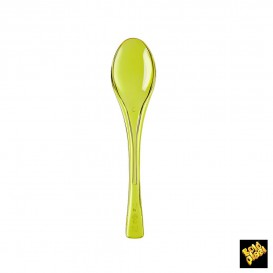 Cuchara de Plastico Fly Amarillo Transp.145mm (50 Uds)
