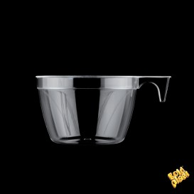 Taza de Plastico Cup Transparente 190ml (25 Uds)