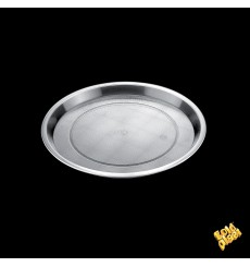 Bandeja Plastico Tray Transparente Ø32cm (25 Uds)