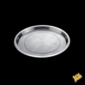 Bandeja Plastico Tray Transparente Ø32cm (5 Uds)