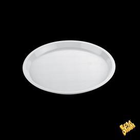 Bandeja Plastico Tray Blanca Ø32cm (5 Uds)