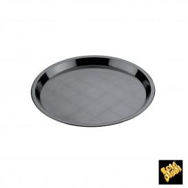 Bandeja Plastico Tray Negra Ø32cm (25 Uds)