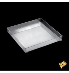 Bandeja Plastico Tray Transparente Ø32cm (1 Uds)