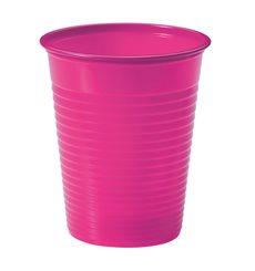 Vaso de Plastico Fucsia PS 200ml (1500 Uds)