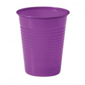 Vaso de Plastico PS Violeta 200ml Ø7cm (100 Uds)