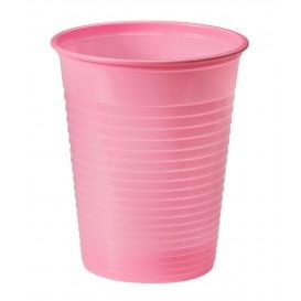 Vaso de Plastico PS Rosa 200ml Ø7cm (1500 Uds)