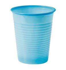 Vaso de Plastico Azul Oscuro PS 200ml (50 Uds)