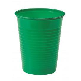 Vaso de Plastico PS Verde 200ml Ø7cm (1500 Uds)