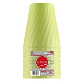 "Vaso de Plastico PP ""X-Table"" Lima 320ml (128 Uds)"