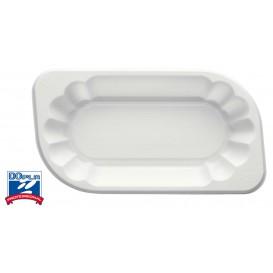 Bandeja de Plastico PS Blanca 250ml (250 Uds)