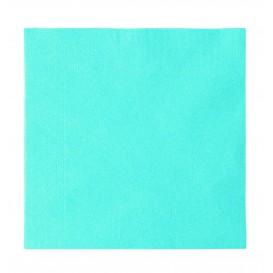 Servilleta de Papel 2 Capas Azul Claro 33x33cm (1200 Uds)
