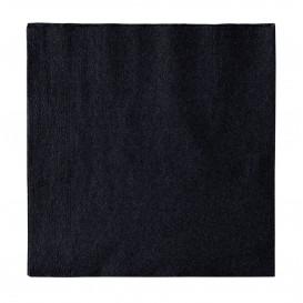 Servilleta de Papel 2 Capas Negro 33x33cm (50 Uds)