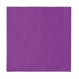 Servilleta de Papel 2 Capas Violeta 33x33cm (50 Uds)