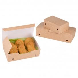 Caja Comida para Llevar Mediana Kraft 145x90x45mm (450 Uds)