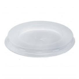 Tapa Plastico PS Blanca Vaso Cristal 200/250ml Ø7,2cm (1000 Uds)