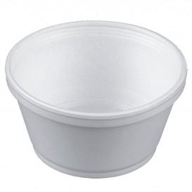 Tarrina Termico Foam Blanco 8Oz/240ml Ø11cm (1000 Uds)