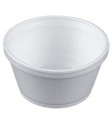 Tarrina Termico Foam Blanco 8OZ/240ml Ø108mm (1000 Uds)