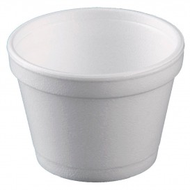 Tarrina Termico Foam Blanco 12 Oz/355ml Ø11cm (25 Uds)