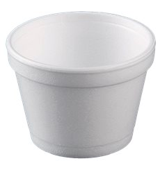 Tarrina Termico Foam Blanco 8OZ/355ml Ø108mm (500 Uds)