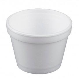 Tarrina Termico Foam Blanco 4Oz/120ml Ø7,4cm (1000 Uds)