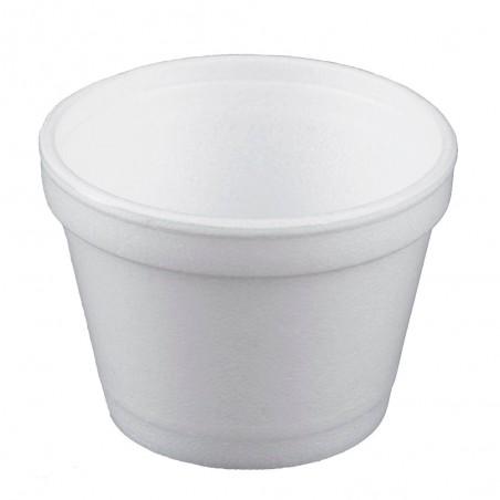 Tarrina Termico Foam Blanco 4OZ/120ml Ø75mm (1000 Uds)