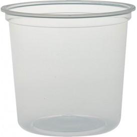 "Envase Plastico PP ""Deli"" 24Oz/710ml Transp. Ø120mm (500 Uds)"